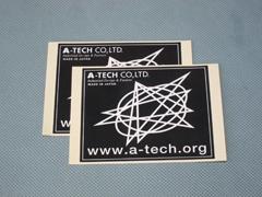 【A-TECH】A-TECH貼紙 - 「Webike-摩托百貨」