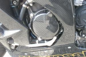【A-TECH】引擎保護 蓋組乾式碳纖維 - 「Webike-摩托百貨」