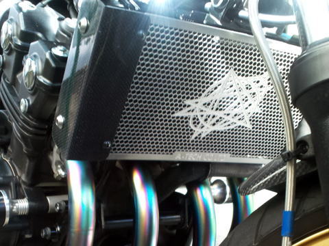 【A-TECH】V-TEC 散熱器(水箱)核心保護蓋 - 「Webike-摩托百貨」