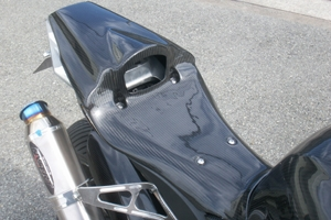 【A-TECH】單座座墊整流罩 - 「Webike-摩托百貨」