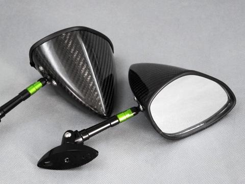 【A-TECH】可調式碳纖維後視鏡組 Type 6 - 「Webike-摩托百貨」