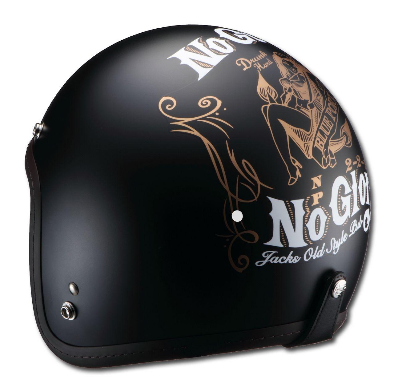 【RIDEZ】Knuckle Head RJ605 NoGutsNoGlory JET安全帽 - 「Webike-摩托百貨」