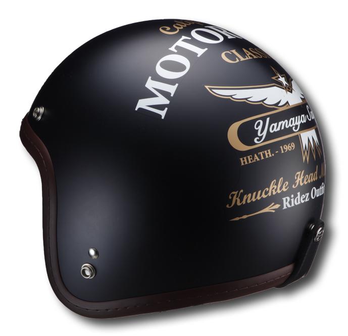 【RIDEZ】Knuckle Head RJ605 Motorcycle JET安全帽 - 「Webike-摩托百貨」