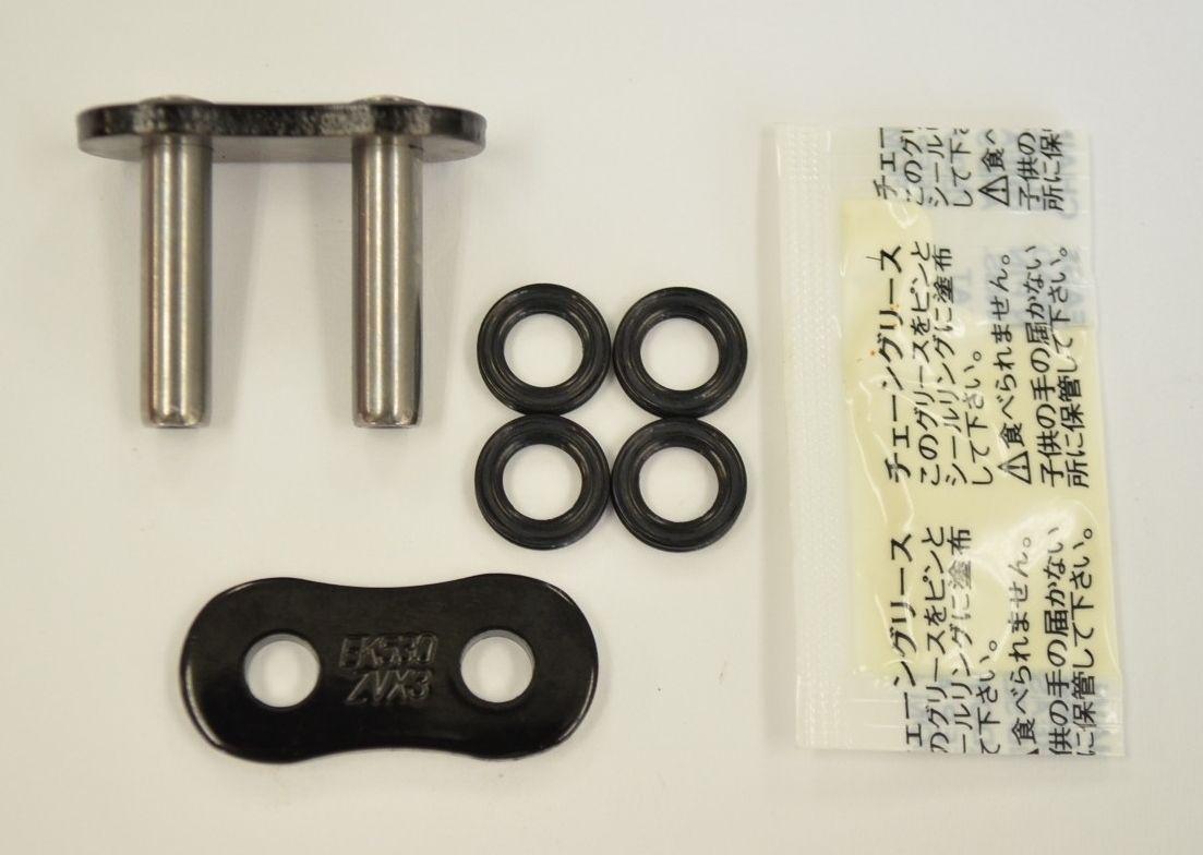 【EK CHAIN】QX油封鏈條 黑色&金色 530ZVX3(BK/GP) - 「Webike-摩托百貨」