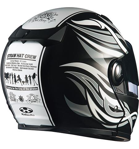 【OGK KABUTO】AFFID ONE PIECE 可掀式全罩安全帽   航海王系列 - 「Webike-摩托百貨」