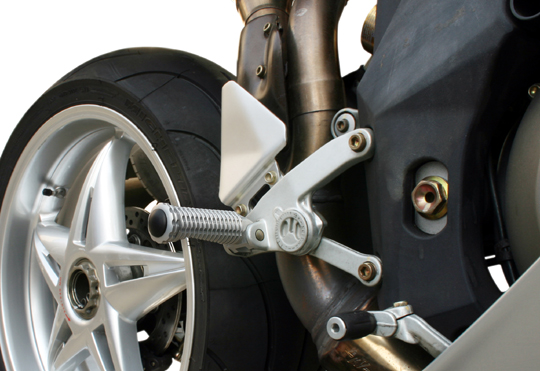 【MotoCrazy】SBK 鋁合金腳踏 AC - 「Webike-摩托百貨」