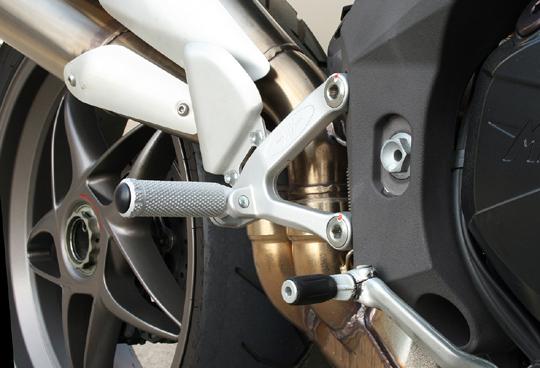 【MotoCrazy】SBK 鋁合金腳踏 A - 「Webike-摩托百貨」
