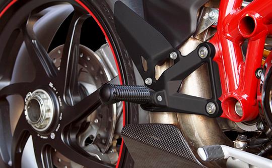 【MotoCrazy】SBK 鋁合金腳踏 RC - 「Webike-摩托百貨」