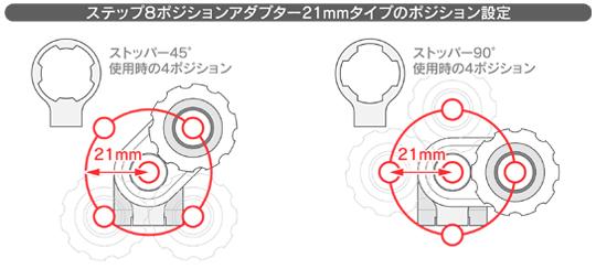【MotoCrazy】8段調整型腳踏轉接座 21mm - 「Webike-摩托百貨」