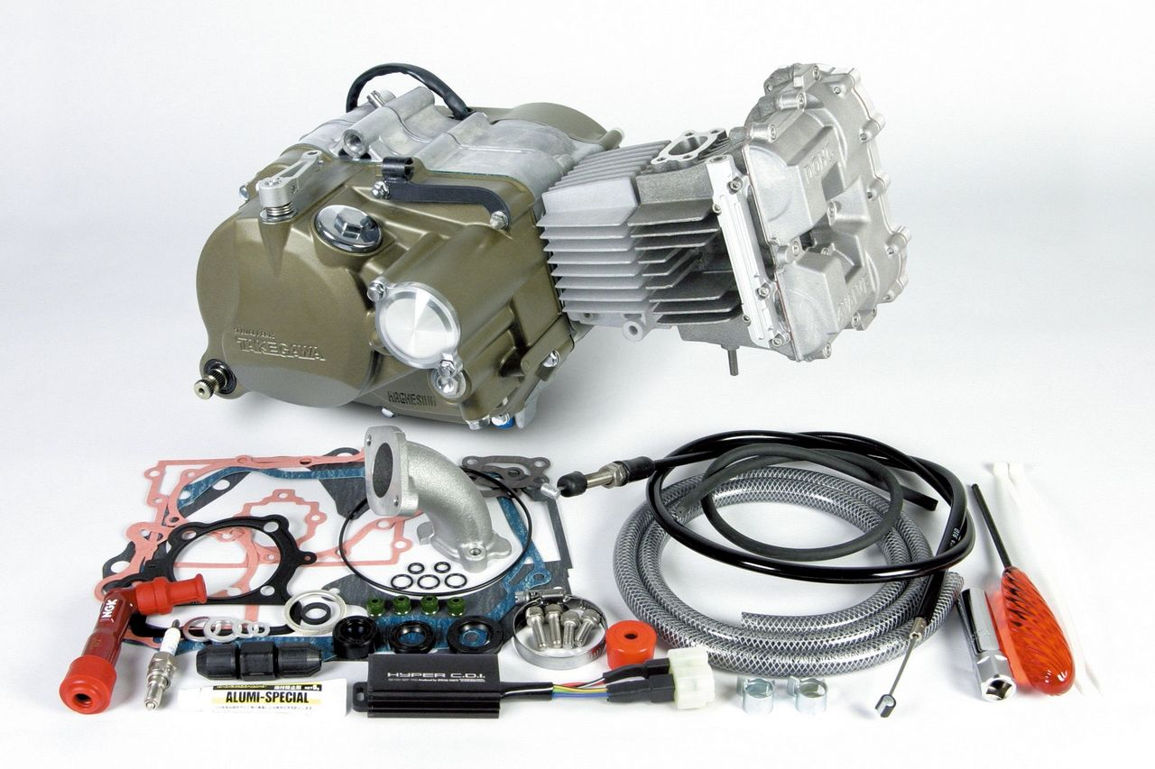【SP武川】DOHC4V+D 完整引擎(Primary式腳踩啟動系統)(標準仕様) - 「Webike-摩托百貨」