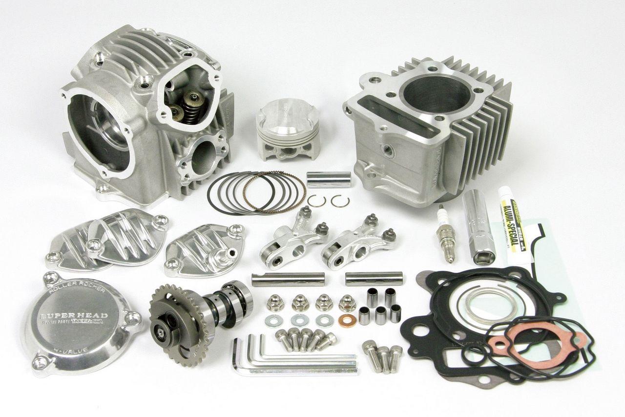 【SP武川】超級汽缸頭4V+R 105cc加大缸徑套件 - 「Webike-摩托百貨」