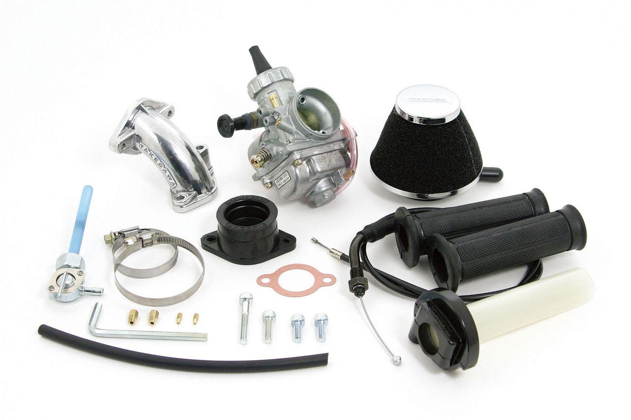 【SP武川】大口徑化油器套件(VM26附油門座與濾心) - 「Webike-摩托百貨」