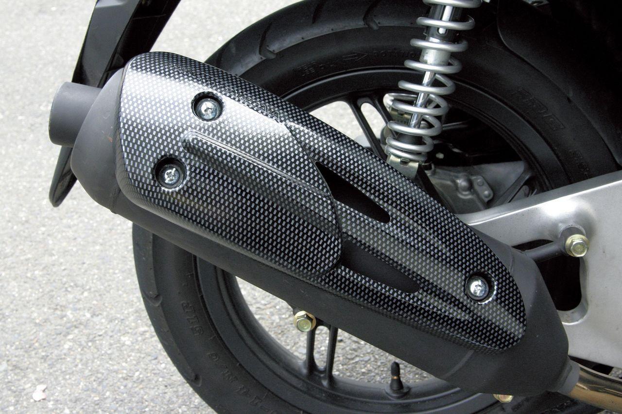 【SP武川】排氣管防燙蓋(碳纖維印刷圖案) - 「Webike-摩托百貨」