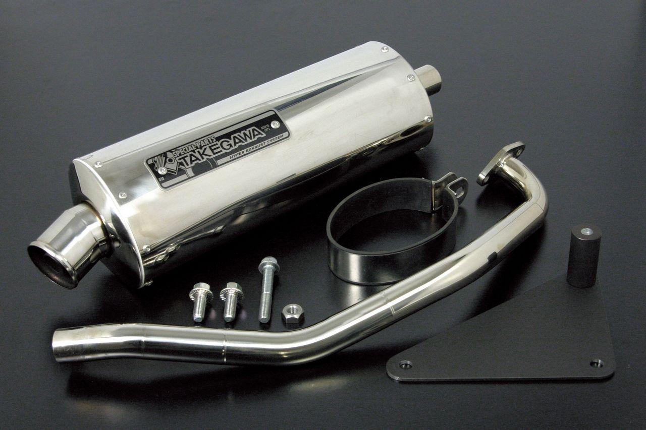 【SP武川】Power Silent Oval 全段排氣管 - 「Webike-摩托百貨」