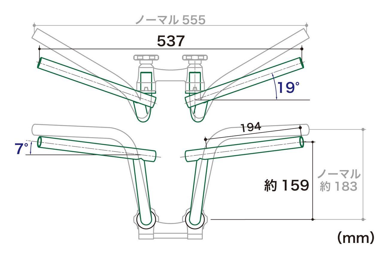 【SP武川】BAT 把手 (Middle Type) - 「Webike-摩托百貨」