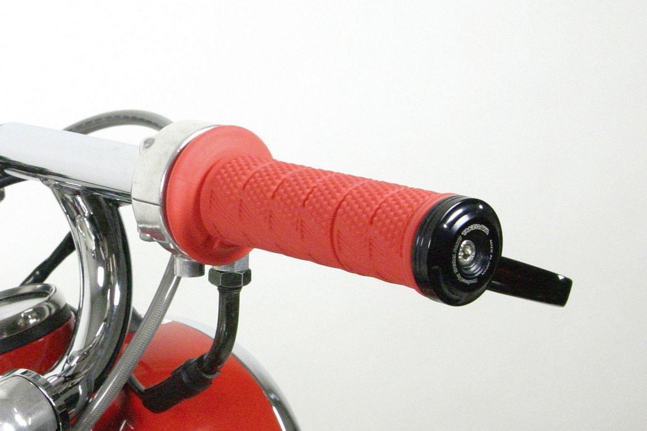 【SP武川】把手握把套橡皮(紅) - 「Webike-摩托百貨」