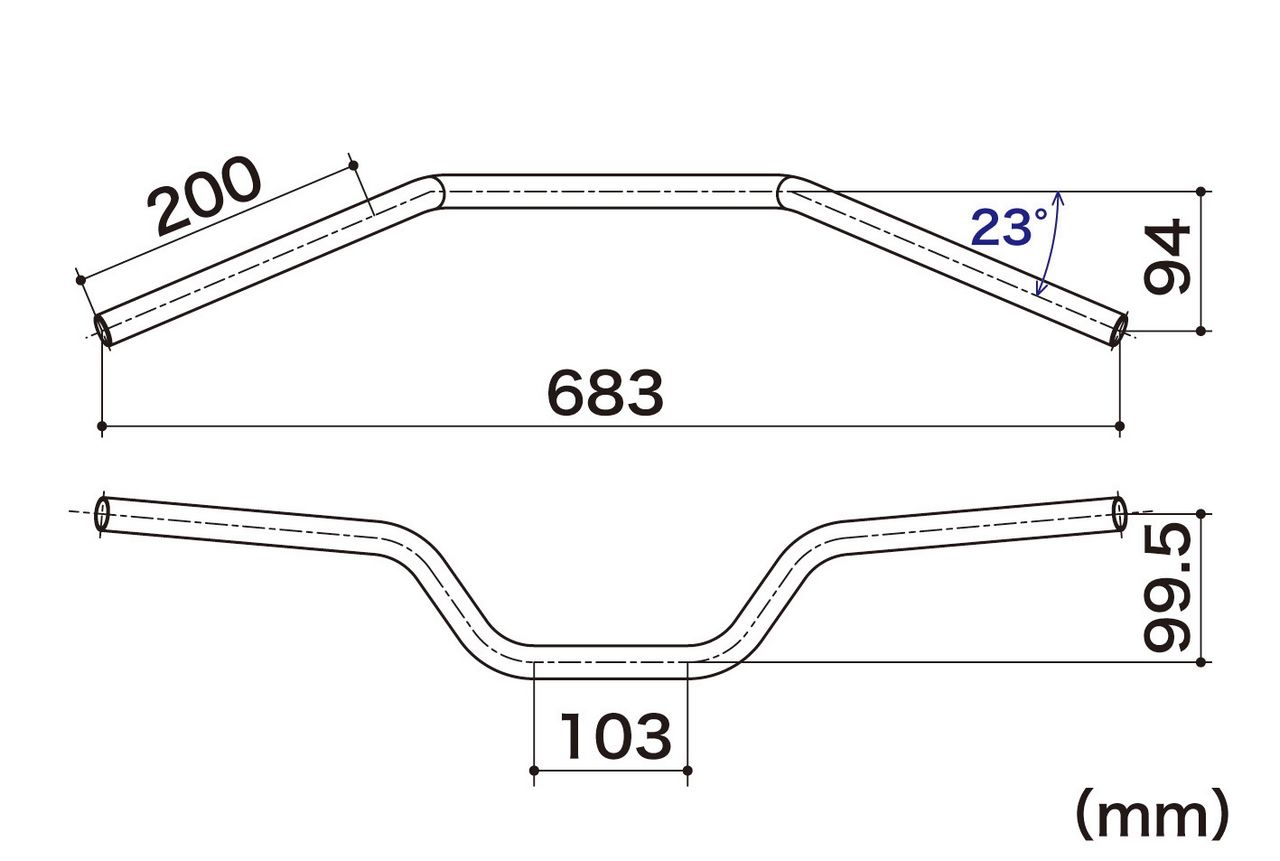 【SP武川】簡易 pipe 轉向把手管 - 「Webike-摩托百貨」