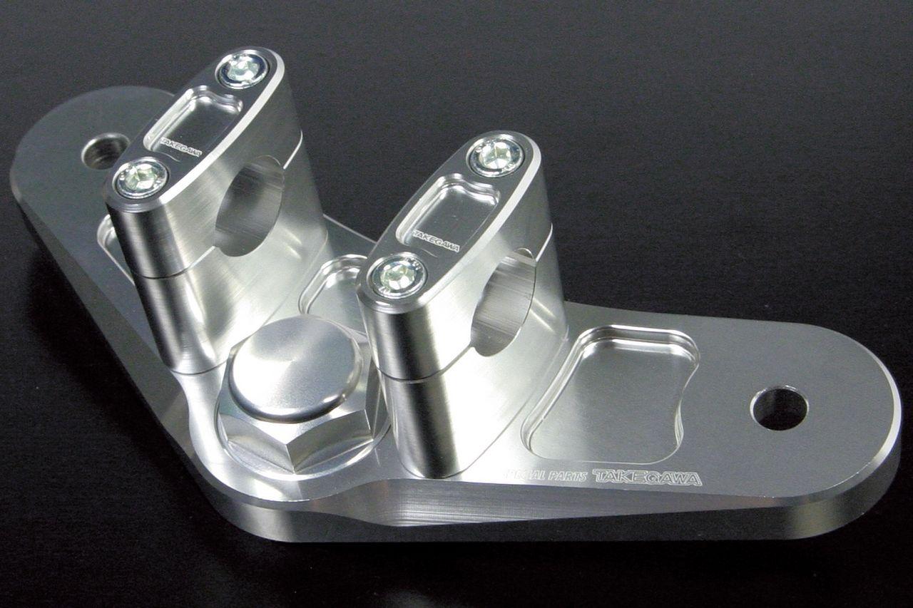 【SP武川】普通型 前叉用把手變換鋁合金切削加工上三角台 - 「Webike-摩托百貨」