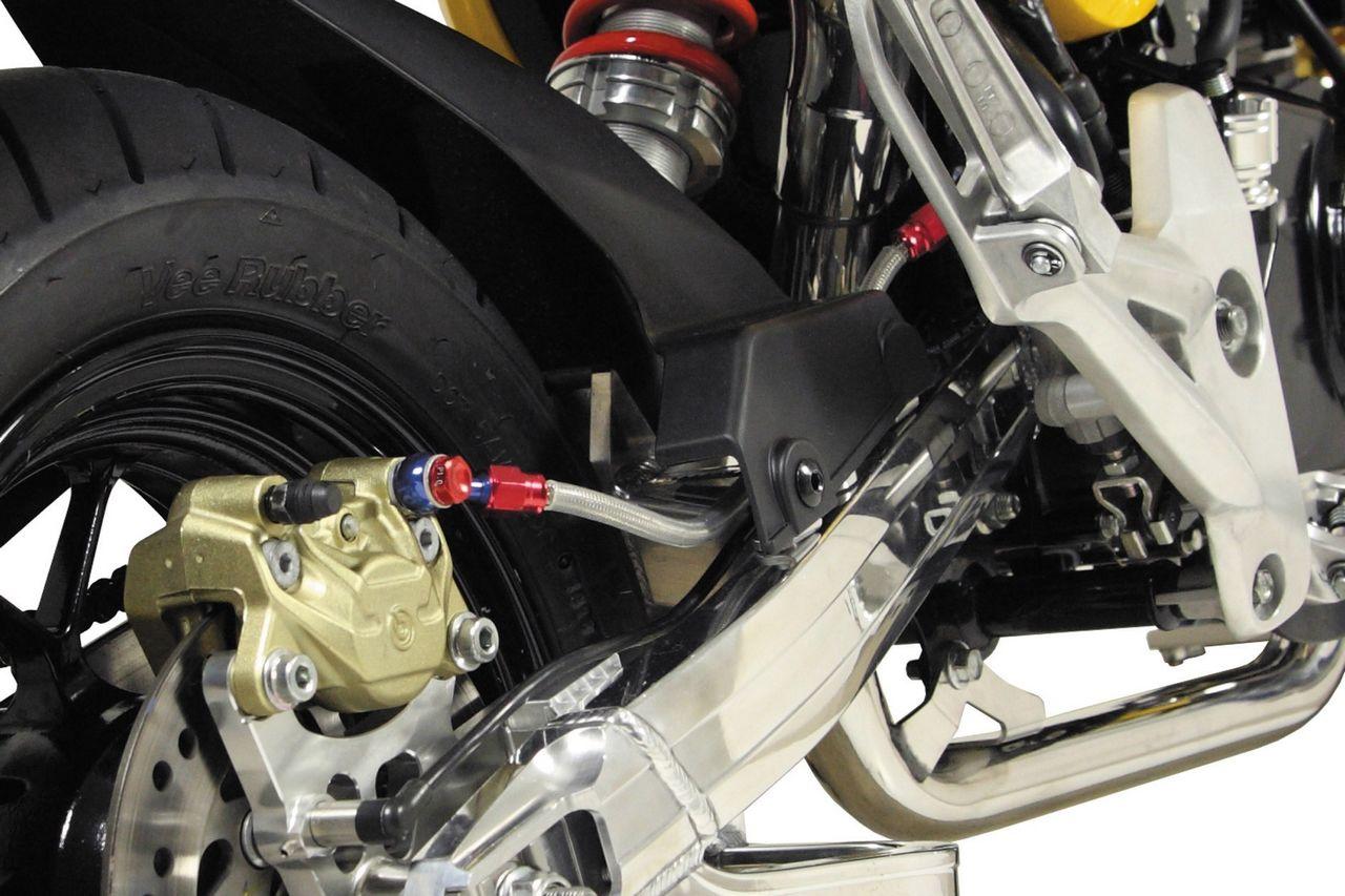 【SP武川】後煞車金屬油管套件 - 「Webike-摩托百貨」