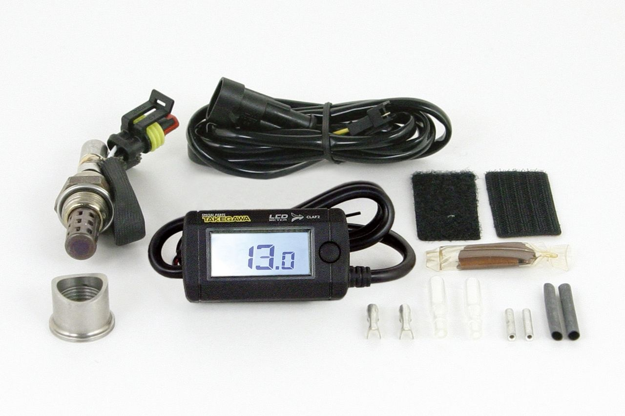 【SP武川】綜合LCD・A/F(空燃比顯示錶)(電池型/外部電源背光型式) - 「Webike-摩托百貨」