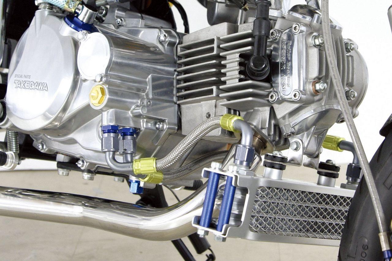 【SP武川】機油冷卻器支架組(引擎下方安裝型式) - 「Webike-摩托百貨」