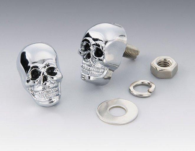 【KIJIMA】骷髏造型螺絲 - 「Webike-摩托百貨」
