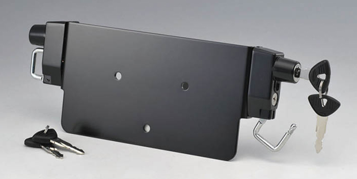 【KIJIMA】牌照框型雙安全帽鎖 - 「Webike-摩托百貨」