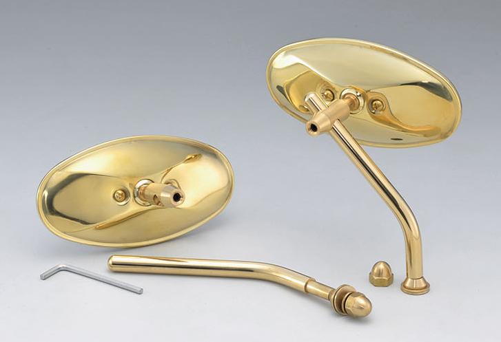 【KIJIMA】Brass橢圓後視鏡 (僅後視鏡本體) - 「Webike-摩托百貨」