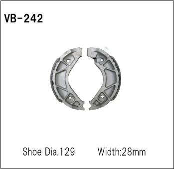 【Vesrah】OEM spec 煞車皮 (鼓式) - 「Webike-摩托百貨」