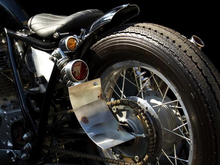 【Motor Rock】69 尾燈 Type2 (銅) - 「Webike-摩托百貨」
