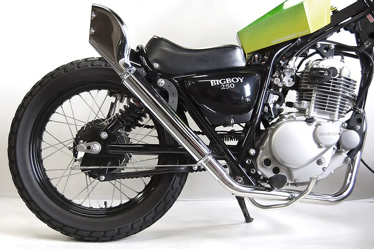 【Motor Rock】Classic Fish Tail Up 全段排氣管 - 「Webike-摩托百貨」