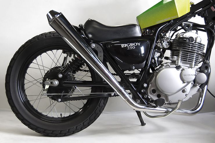 【Motor Rock】Megaphone Exhaust Long Up 全段排氣管 - 「Webike-摩托百貨」