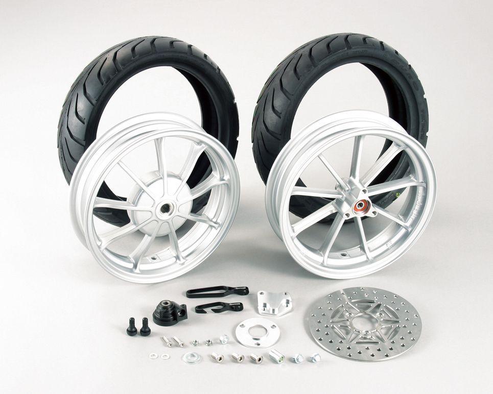 【KITACO】12吋鋁合金鑄造輪框套件 - 「Webike-摩托百貨」