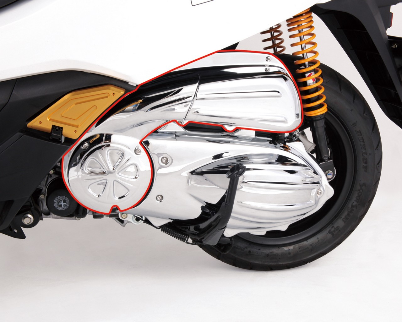 【KITACO】空氣濾清器&管飾蓋 - 「Webike-摩托百貨」