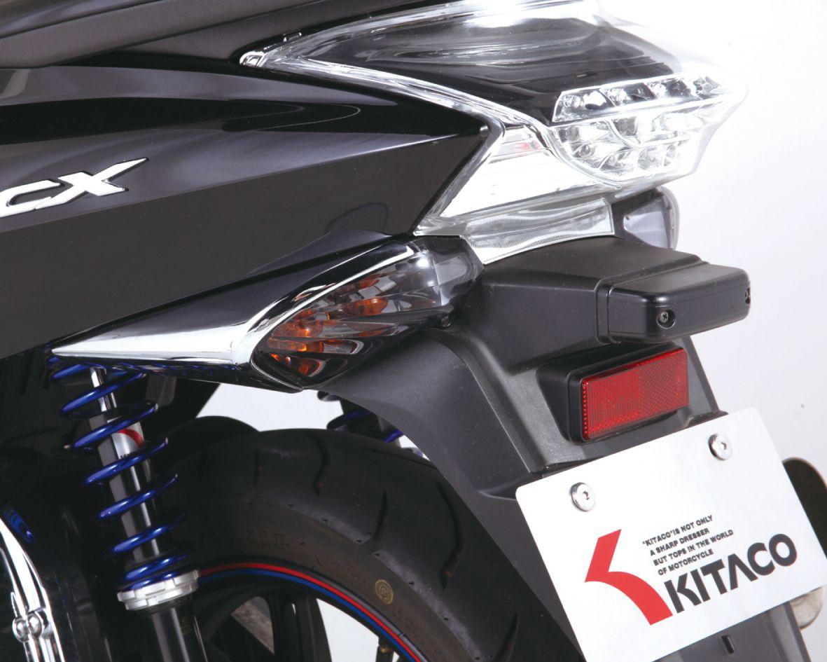 【KITACO】後燻黑方向燈殼組 - 「Webike-摩托百貨」