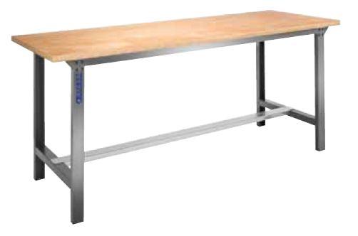 Expert wooden workbench 2m