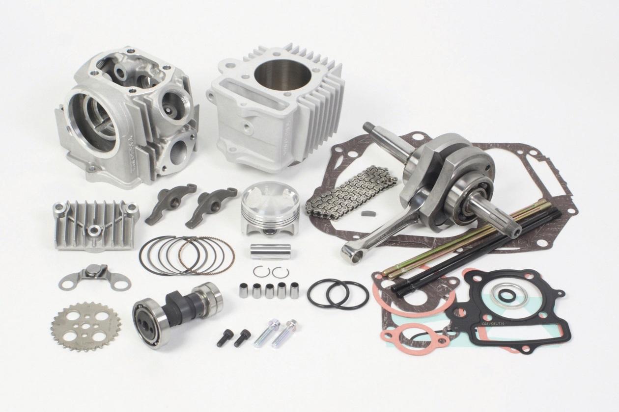 【SP武川】17R-Stage+D 加大缸徑及行程引擎套件 124cc (HA汽缸/2B) - 「Webike-摩托百貨」