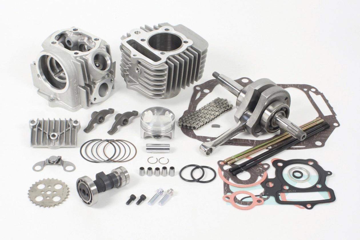 【SP武川】17R-Stage+D 加大缸徑及行程引擎套件 124cc (V汽缸/2B) - 「Webike-摩托百貨」