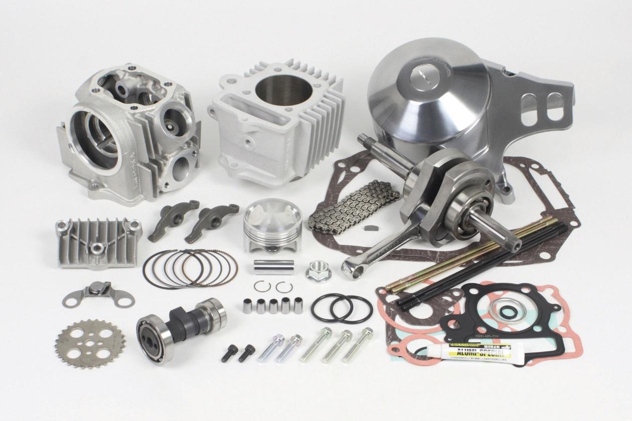 【SP武川】17R-Stage+D 加大缸徑及行程引擎套件 124cc (HA汽缸/3B) - 「Webike-摩托百貨」