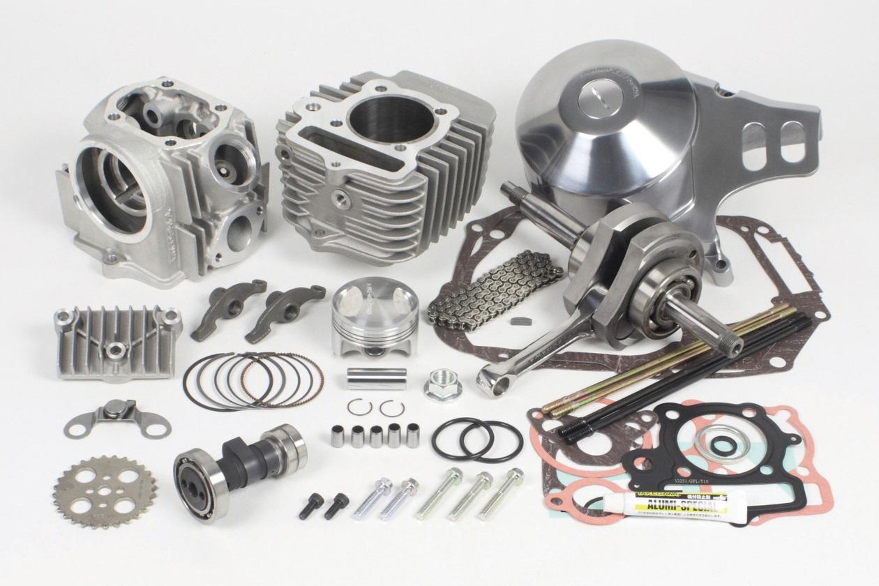 【SP武川】17R-Stage+D 加大缸徑及行程引擎套件 124cc (V汽缸/3B) - 「Webike-摩托百貨」