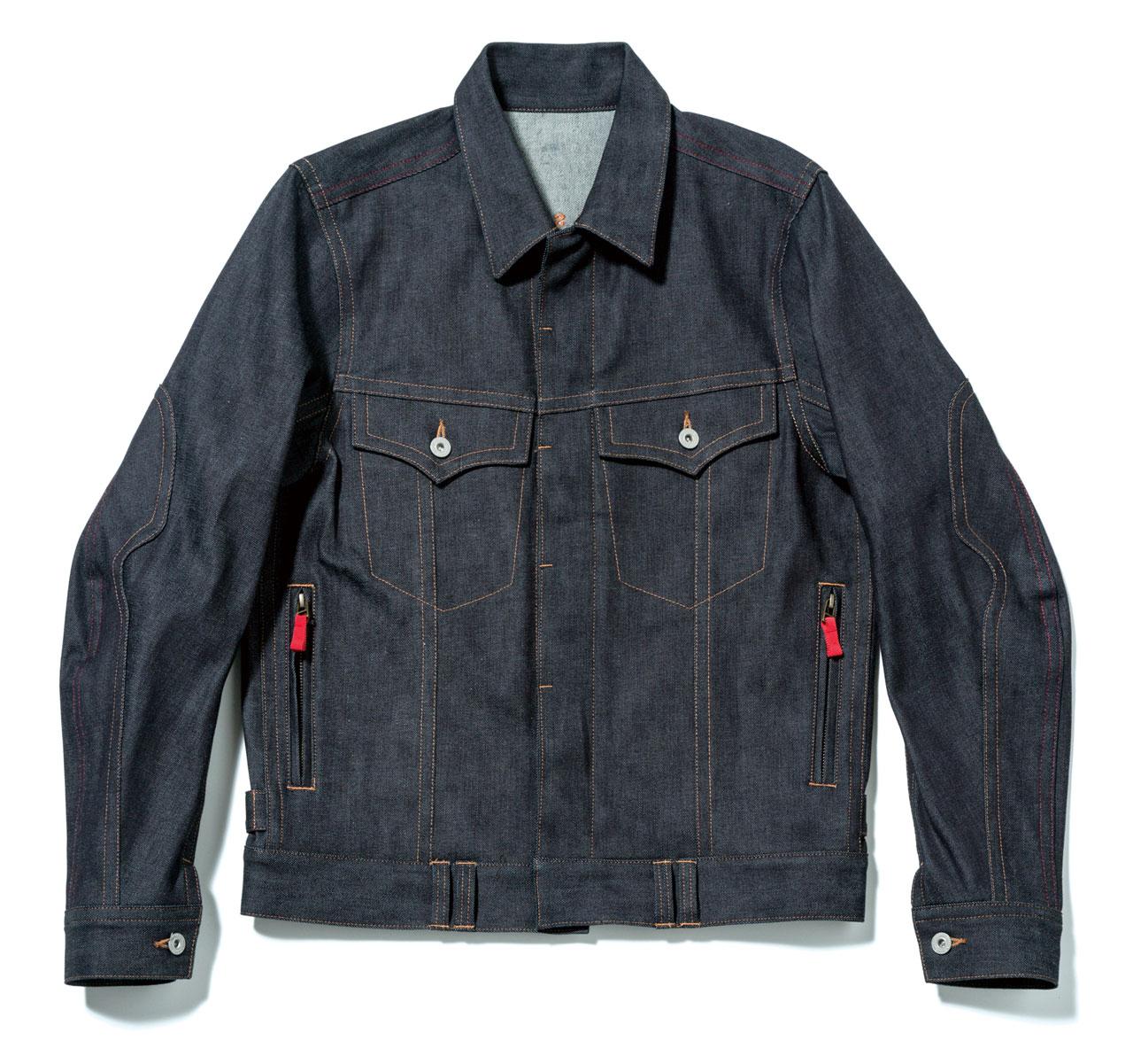【HONDA RIDING GEAR】【HONDA×SHINICHIRO ARAKAWA】丹寧牛仔 布勞森外套 - 「Webike-摩托百貨」