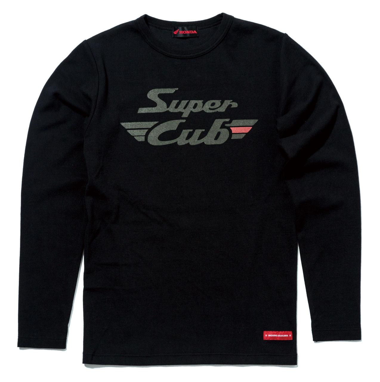 【HONDA RIDING GEAR】【HONDA×SHINICHIRO ARAKAWA】Cub長 T恤 - 「Webike-摩托百貨」