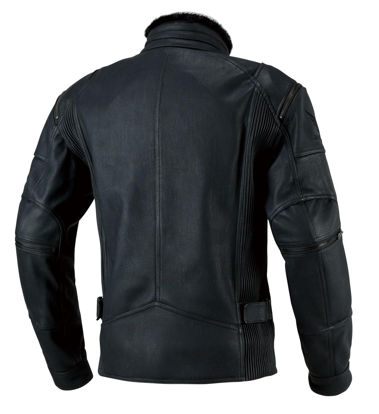 【HONDA RIDING GEAR】領子鋪毛騎士外套 - 「Webike-摩托百貨」
