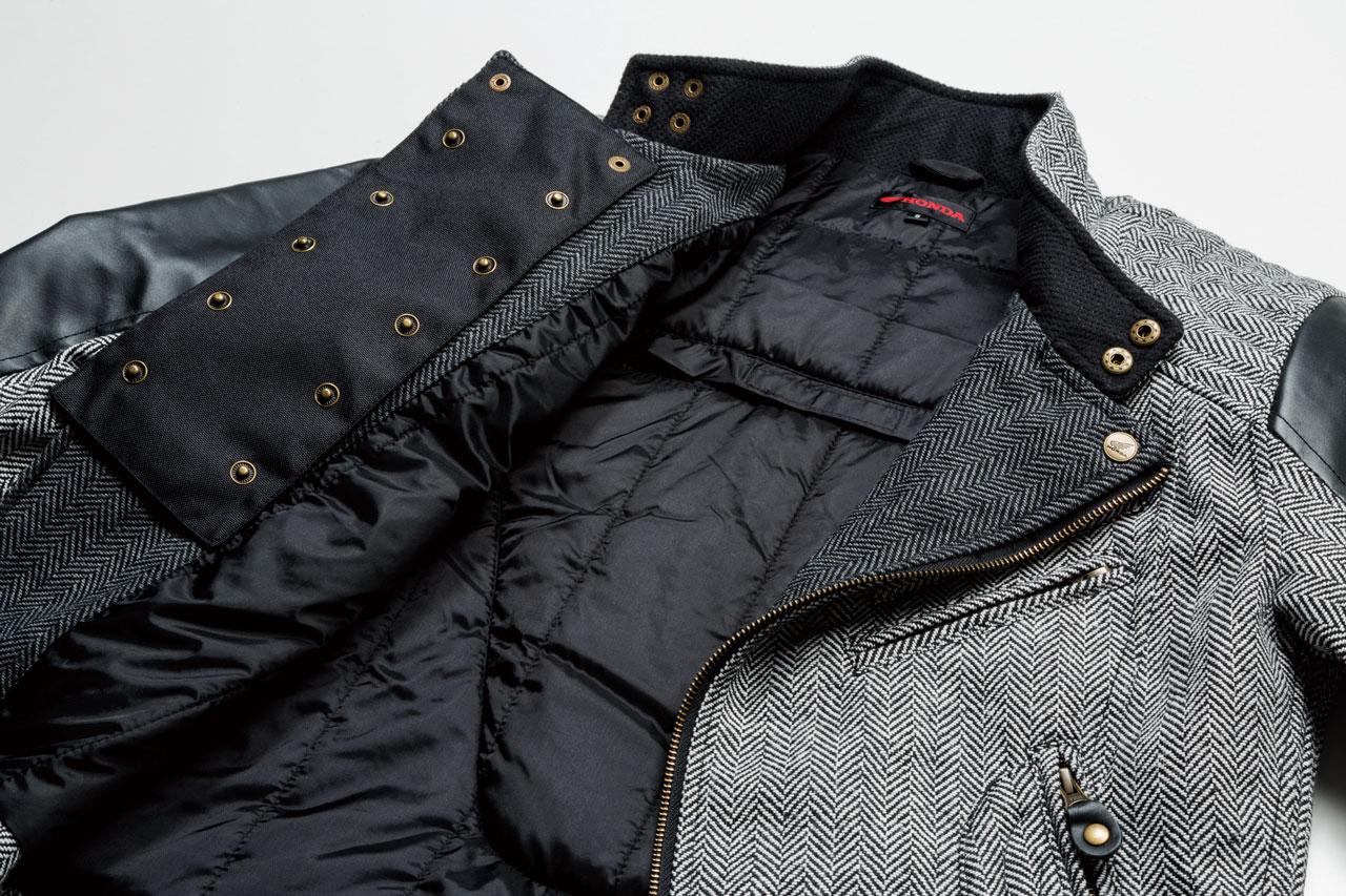 【HONDA RIDING GEAR】斜紋軟呢騎士外套 - 「Webike-摩托百貨」