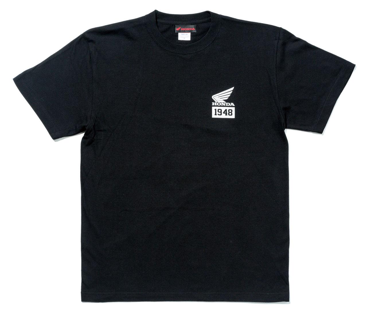 【HONDA RIDING GEAR】【HONDA×YOSHIDA ROBERTO】短袖 T恤「1948」 - 「Webike-摩托百貨」
