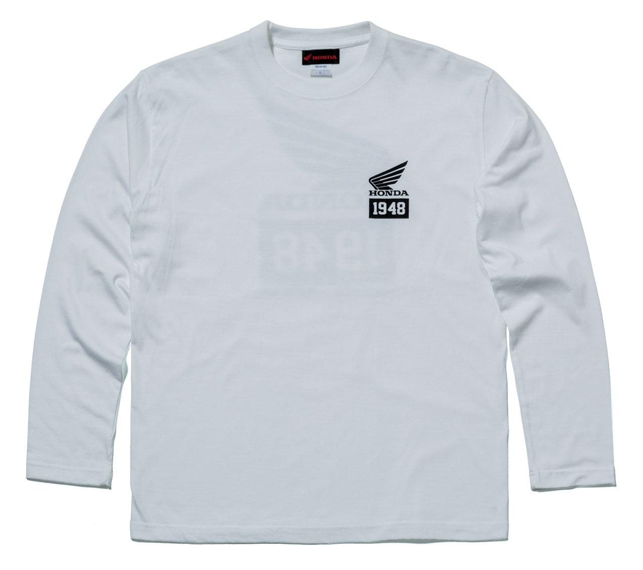 【HONDA RIDING GEAR】【HONDA×YOSHIDA ROBERTO】長袖 T恤「1948」 - 「Webike-摩托百貨」