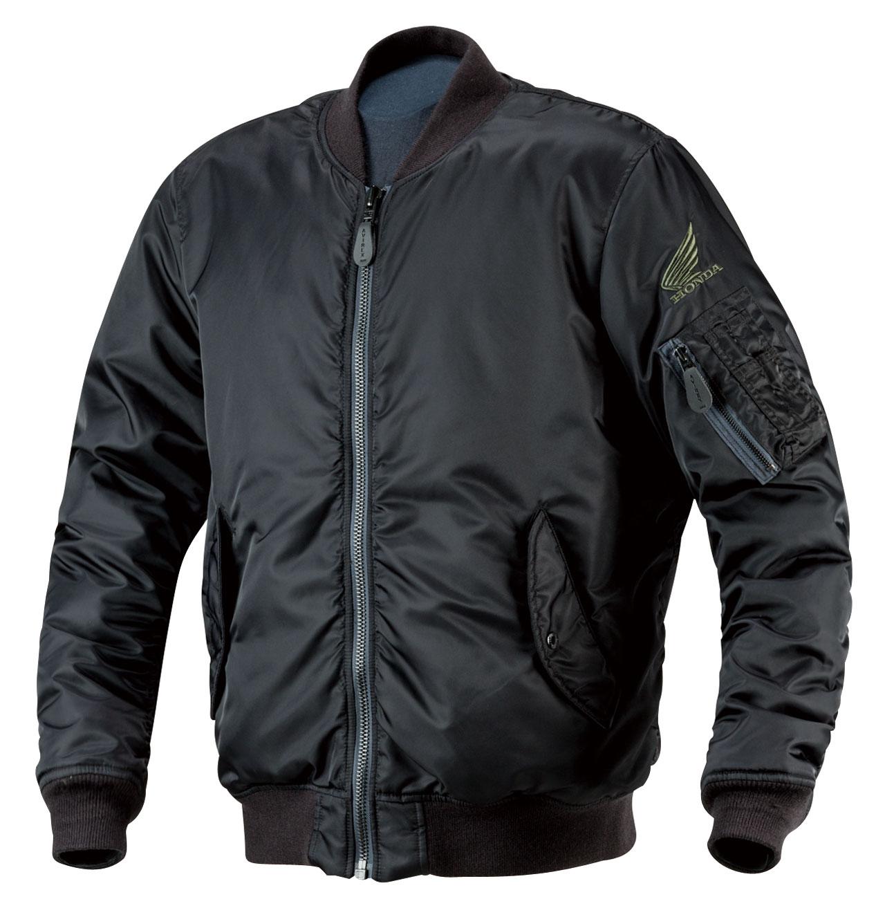 【HONDA RIDING GEAR】【Honda×AVIREX】MA-1 外套 - 「Webike-摩托百貨」