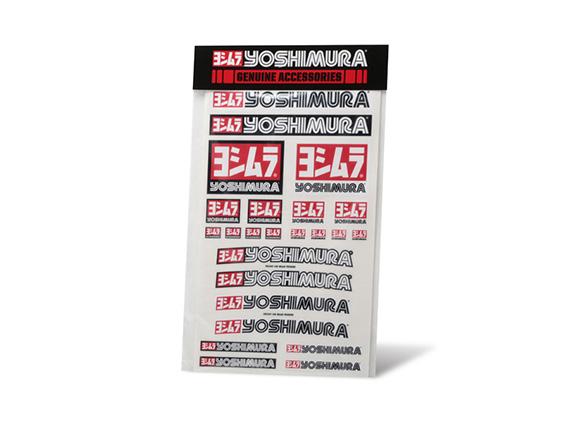 【YOSHIMURA】US YOSHIMURA 貼紙組 - 「Webike-摩托百貨」