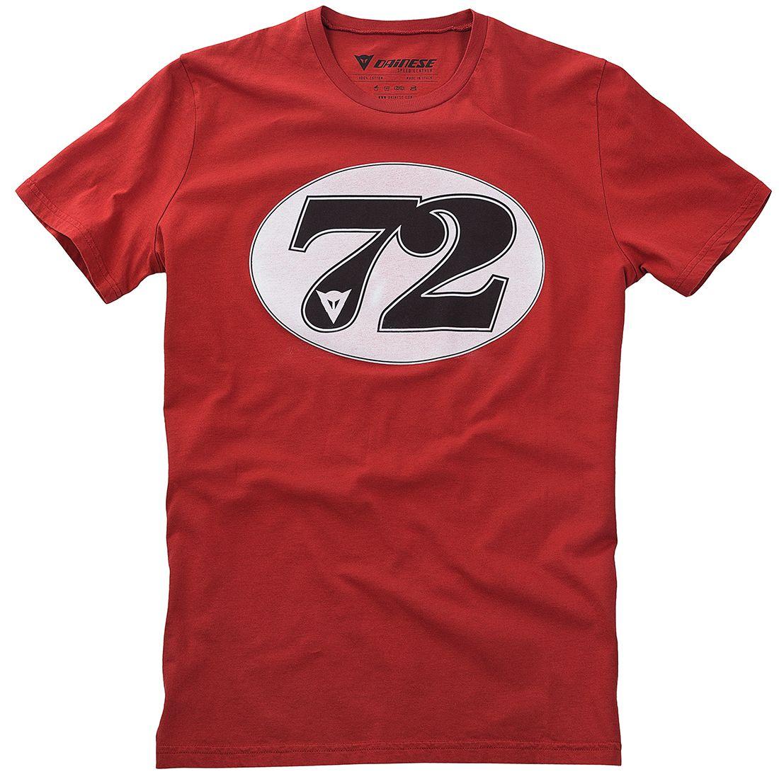 【DAINESE】NUMBER 72 T恤 - 「Webike-摩托百貨」