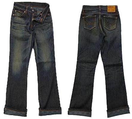 【EDWIN】MISS EDWIN  WILD FIRE  女用美腳牛仔褲 - 「Webike-摩托百貨」